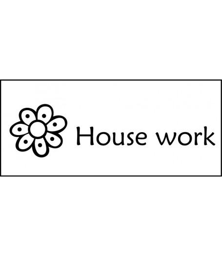 Housework stamp