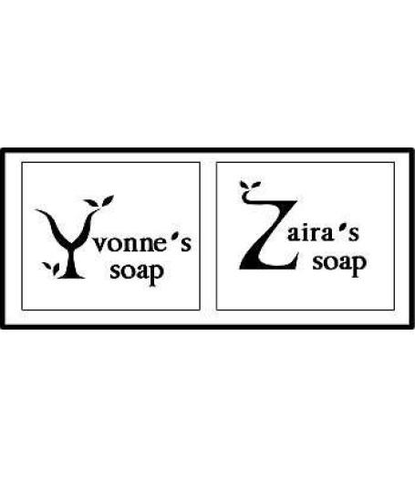 Custom made Y and Z alphabet stamp