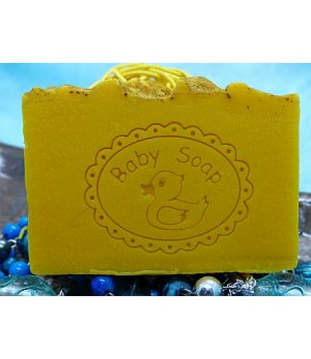 Baby soap stamp