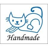 Curious -- cat stamp