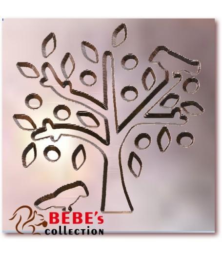 Bird and tree stamp